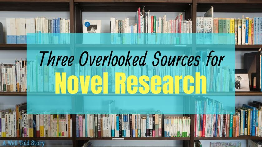 Overlooked sources for Novel research