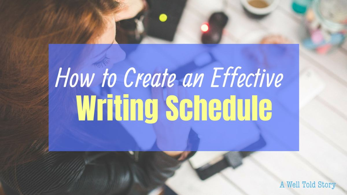 How to Create an Effective Writing Schedule: 8 Writing Tips