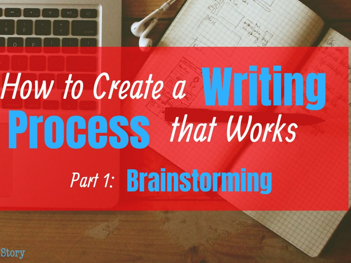How to Create a writing process that works: brainstroming
