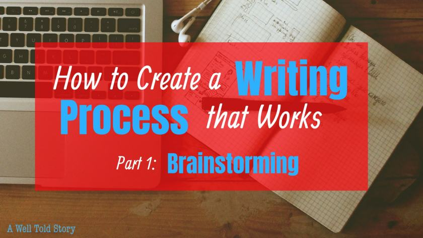 How to Create a writing process that works: brainstorming