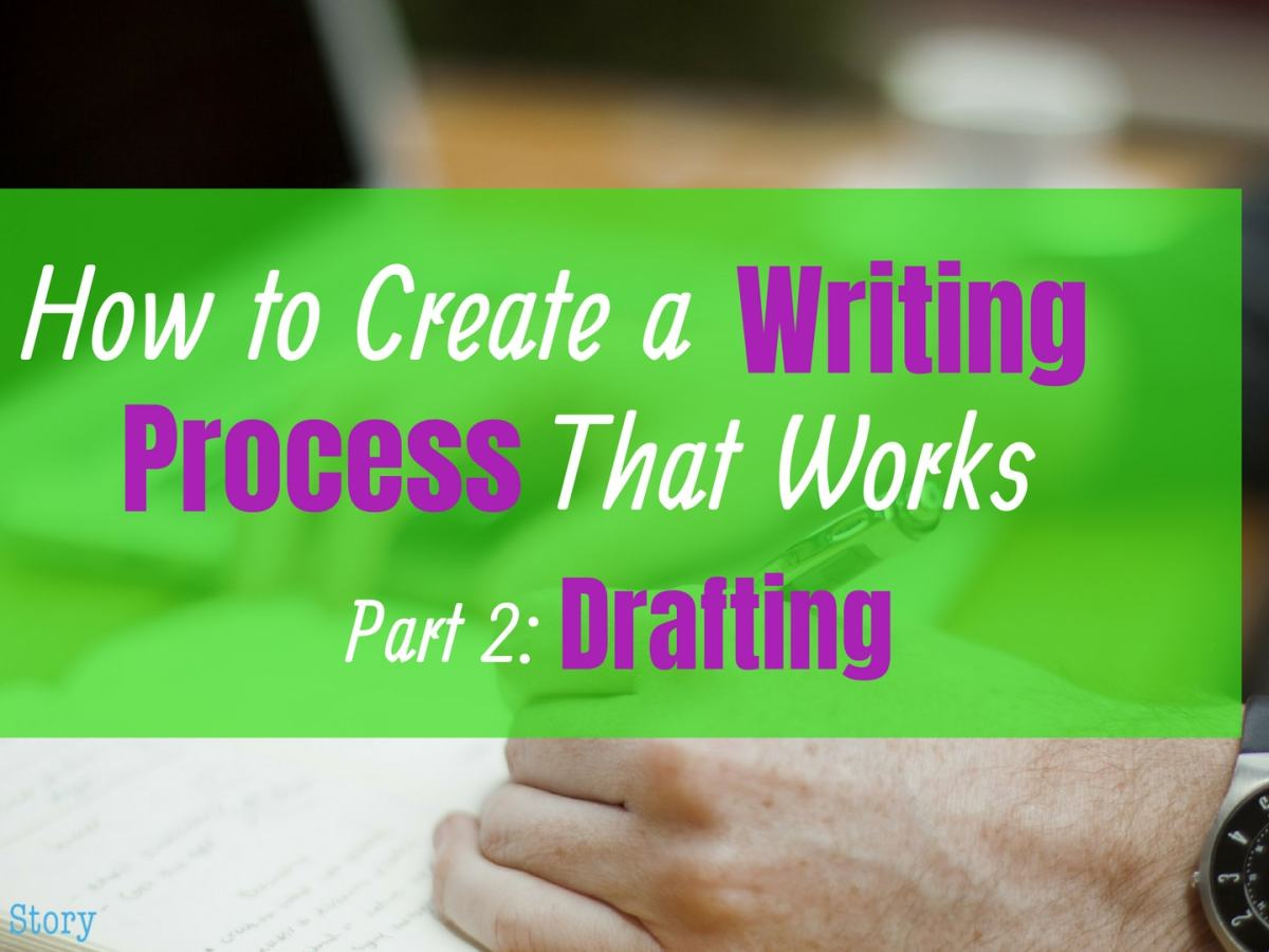 How to create a writing process that works: drafting