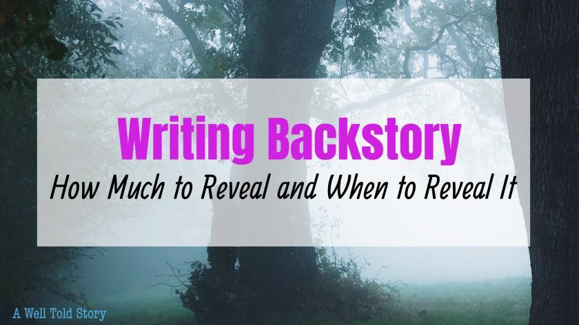 Writing Backstory