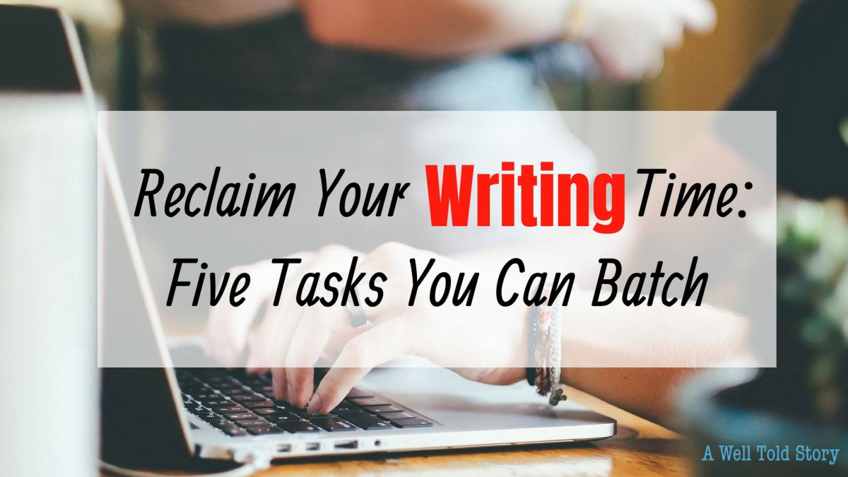 reclaim your writing time