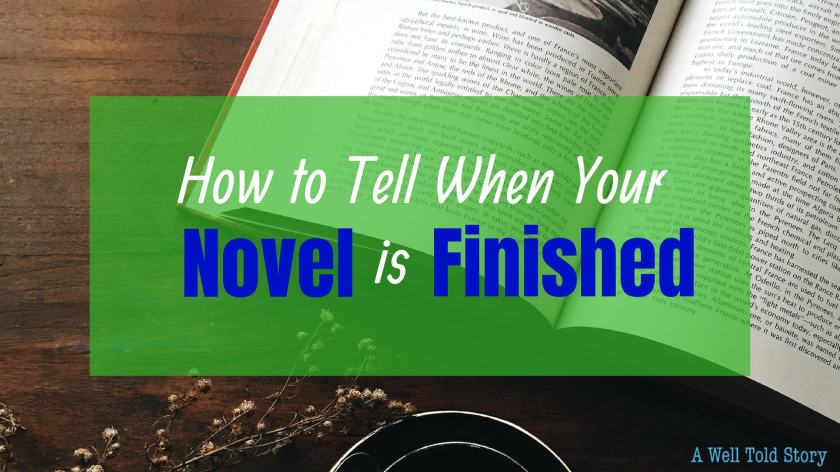 how to tell when your book is done
