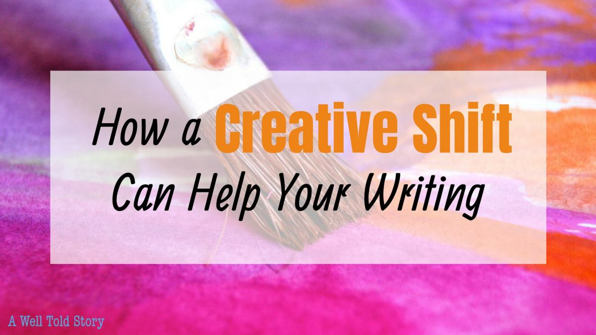 How a Creative Shift Can Help You: 5 Great Writing Tips